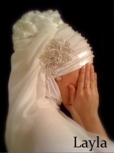 Pin Sahra Hijab Mariage Ation Artisanale Hijabs Soir on Pinterest