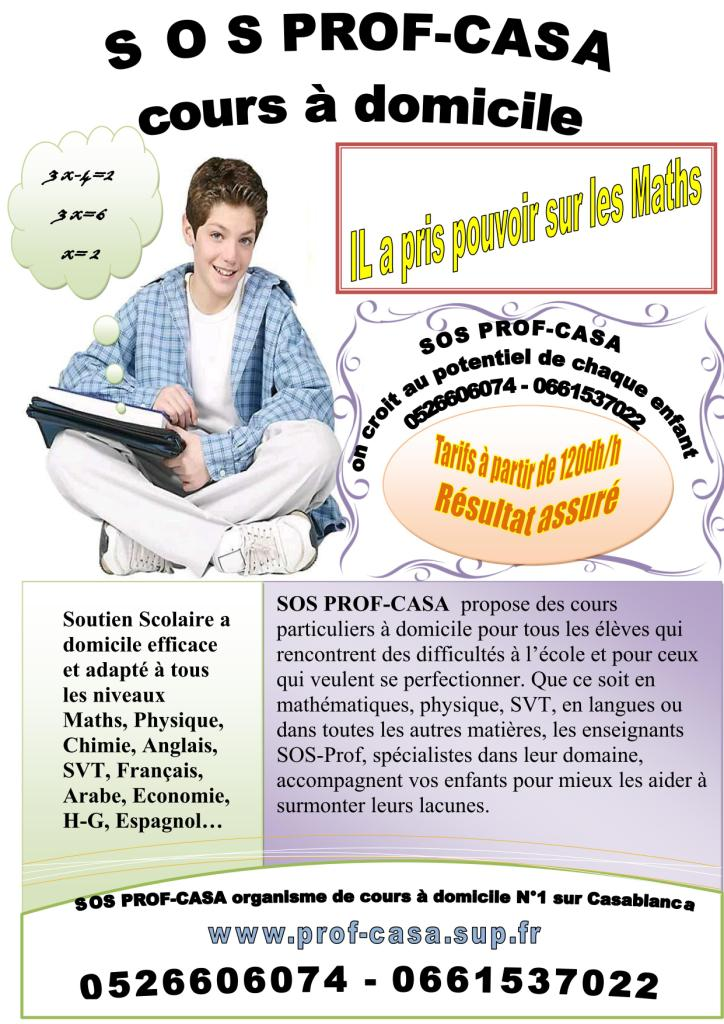 cours de francais a domicile sur casablanca casablanca maroc. Black Bedroom Furniture Sets. Home Design Ideas
