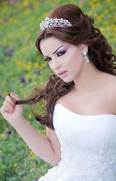 Coiffure et maquillage mariage marocain