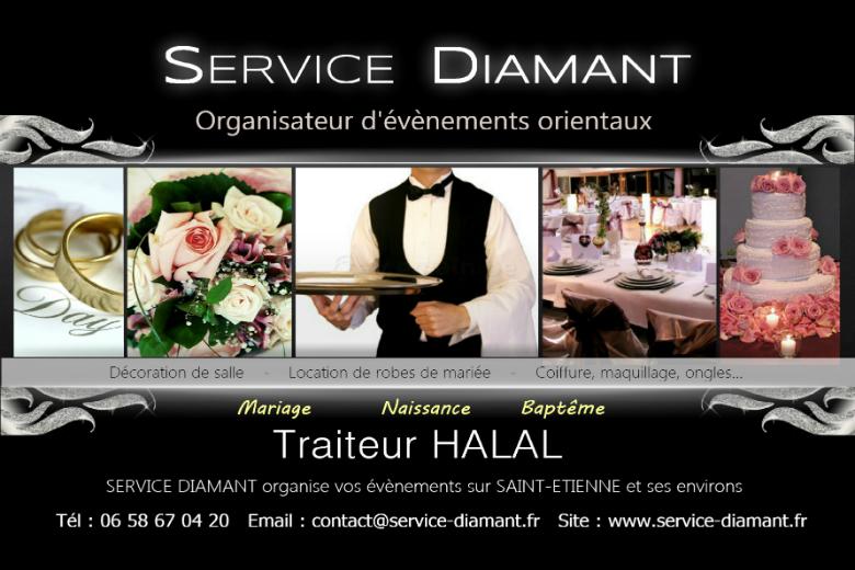SERVICE DIAMANT - Traiteur HALAL - Mariage, Naissance, Baptême ...