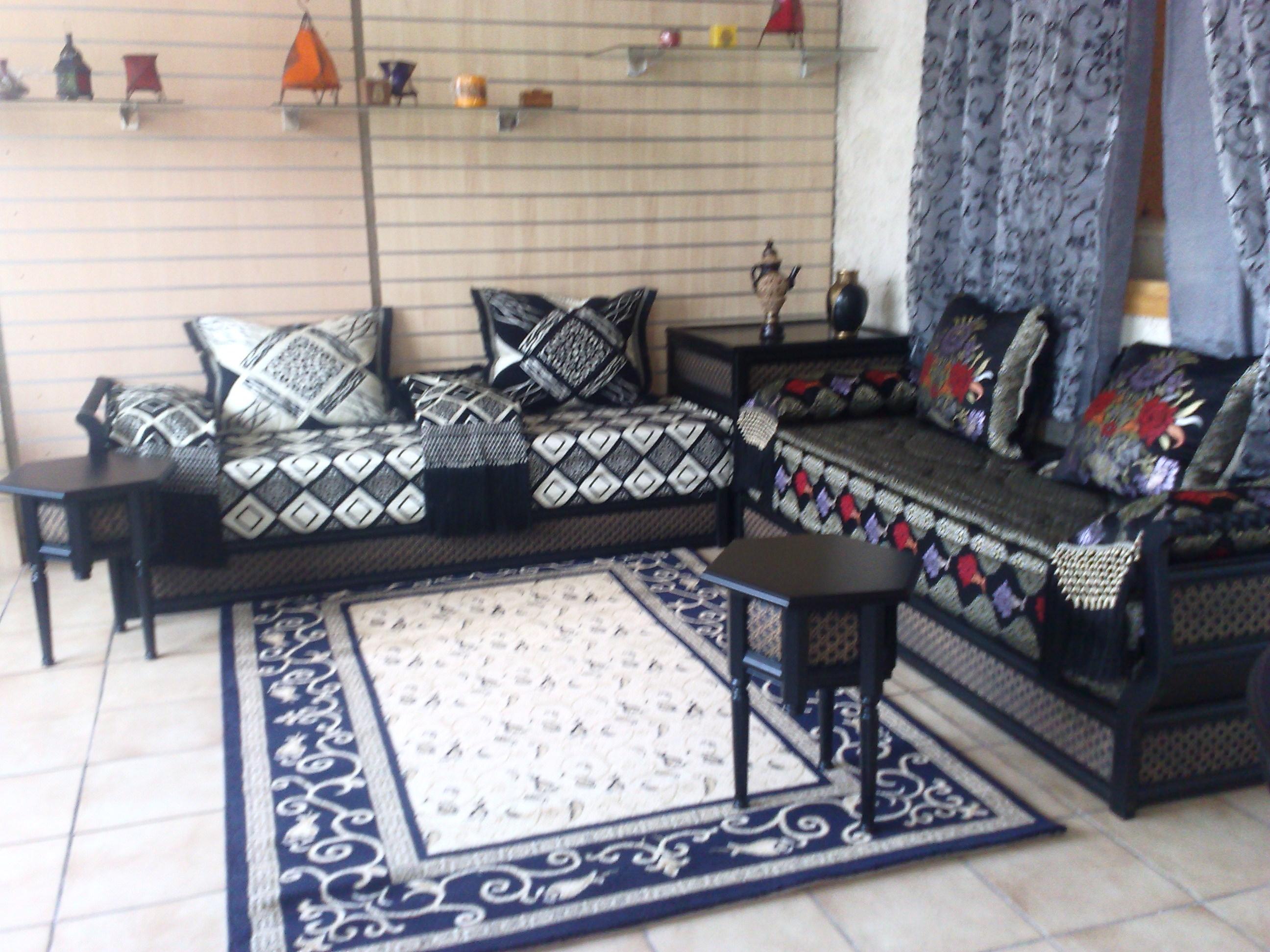 Meubles et salons marocains dijon france for K meuble salon marocain