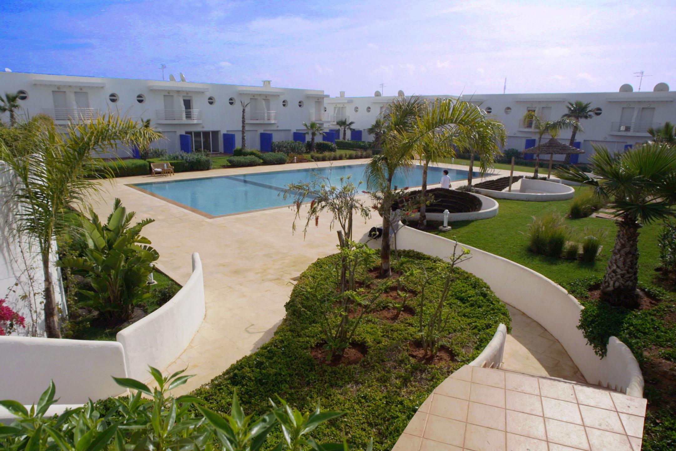 Residence chadia skhirat rabat maroc for Residence a mohammedia avec piscine