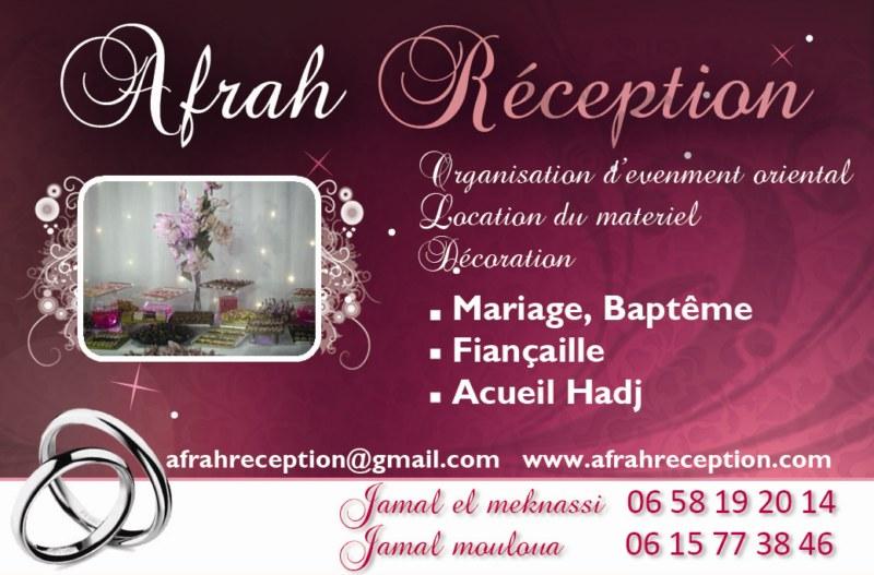 Organisation Du Mariage Oriental Dcoration De Salle Et Service Traiteur Afrahreception