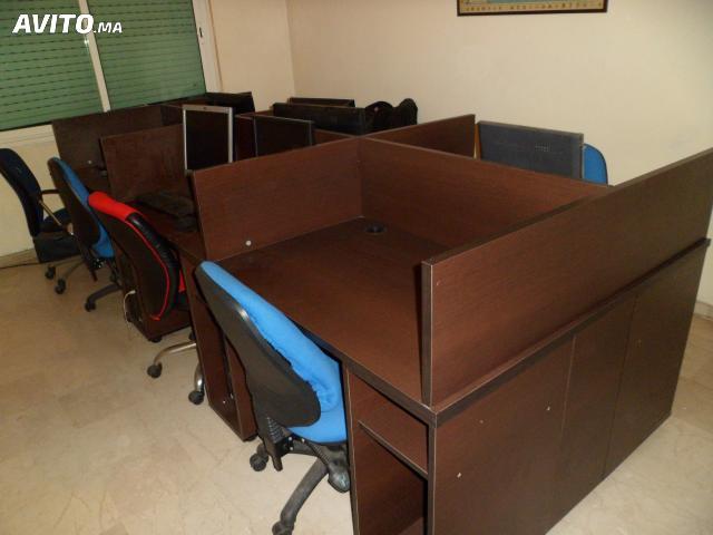 Table bureau wengue casablanca maroc
