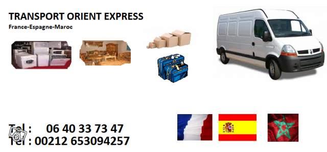 transport de colis bagages vers le maroc normandie france. Black Bedroom Furniture Sets. Home Design Ideas
