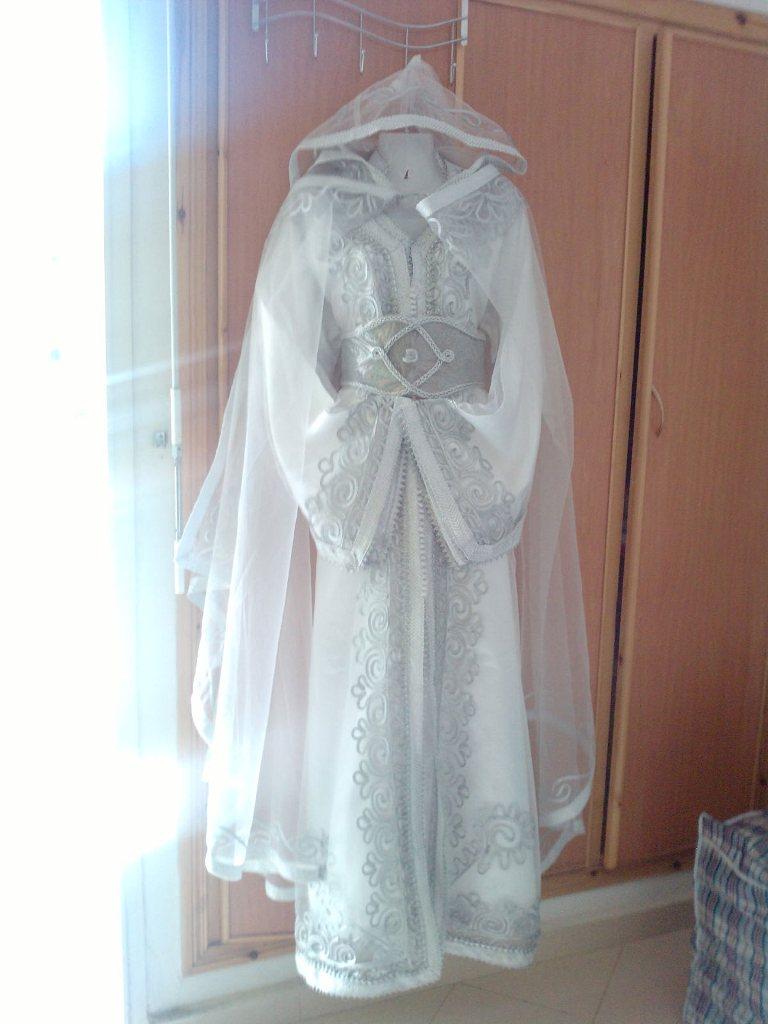 takchita mariée blanche avec silhem sochaux France