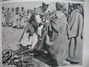 Des résistants amazighs. / Ph. Francis Boulbes
