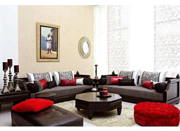 D co les 10 photos qui vous donneront envie d 39 opter pour la moroccan touch - Modeles de canapes salon ...