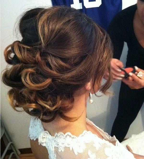 Fabuleux Chignon simple pour mariage coiffure mariage chignon moderne | Abc  FA63
