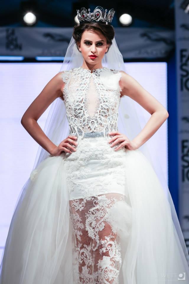 Fashion Week Tunis : La robe de mariée version Haytham Bouhamed